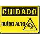 3066-placa-cuidado-ruido-alto-pvc-semi-rigido-26x18cm-furos-6mm-parafusos-nao-incluidos-1