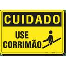 3081-placa-cuidado-use-corrimao-pvc-semi-rigido-26x18cm-furos-6mm-parafusos-nao-incluidos-1