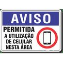 2072-placa-aviso-permitida-a-utilizacao-de-celular-nesta-area-pvc-semi-rigido-26x18cm-furos-6mm-parafusos-nao-incluidos-1