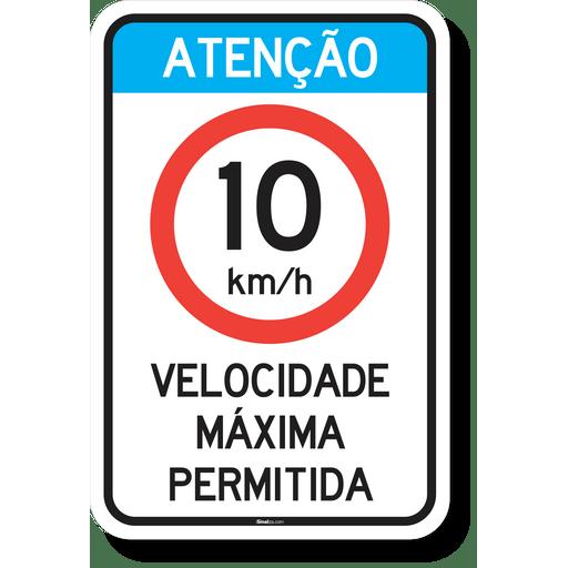 4344-placa-atencao-velocidade-maxima-permitida-10kmh-acm-3mm-refletivo-tipo-i-abnt-14.644-40x60cm-1