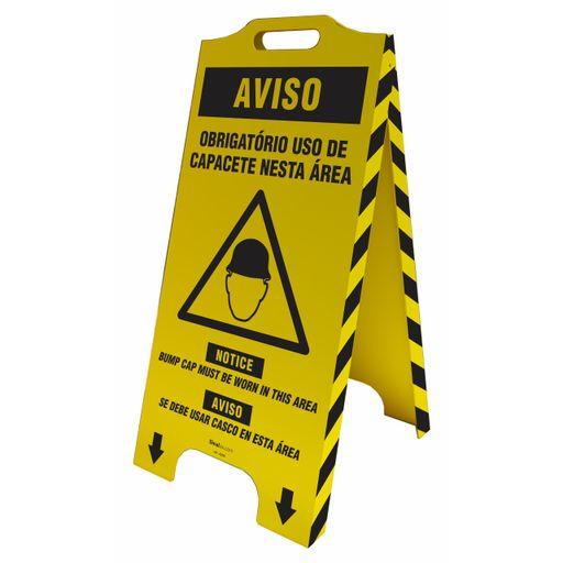 4442-cavalete-de-sinalizacao-trilingue-aviso-obrigatorio-uso-de-capacete-nesta-area-58x28cm-1
