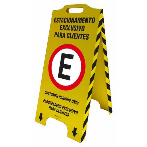 4447-cavalete-de-sinalizacao-trilingue-estacionamento-exclusivo-para-clientes-58x28cm-1