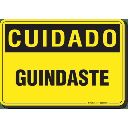CUIDADO---GUINDASTE