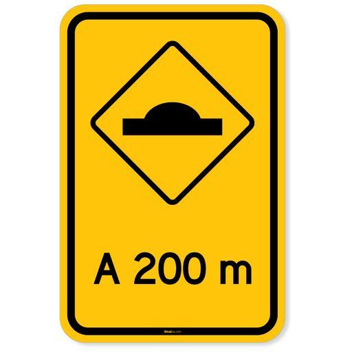 Placa-Advertencia---Lombada-a-200m