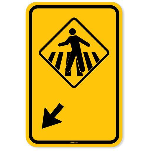 Placa-Advertencia---Pedestre-ande-na-faixa-a-esquerda
