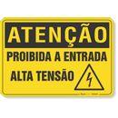 PLACA-ATENCAO-PROIBIDA-A-ENTRADA-ALTA-TENSAO