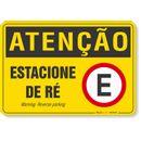PLACA-ATENCAO-ESTACIONE-DE-RE