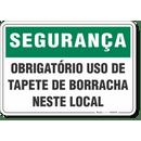 4561-placa-seguranca-obrigatorio-uso-de-tapete-de-borracha-neste-local-pvc-semi-rigido-26x18cm-furos-6mm-parafusos-nao-incluidos-1