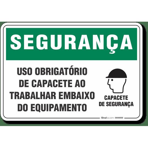 4564-placa-seguranca-uso-obrigatorio-de-capacete-ao-trabalhar-embaixo-do-equipamento-pvc-semi-rigido-26x18cm-furos-6mm-parafusos-nao-incluidos-1