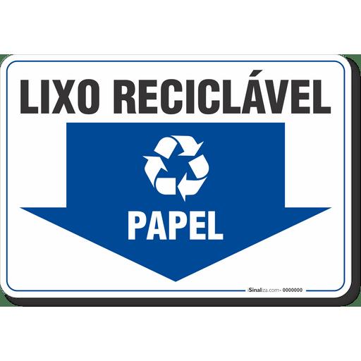 4599-placa-meio-ambiente-lixo-reciclavel-papel-pvc-semi-rigido-26x18cm-furos-6mm-parafusos-nao-incluidos-1