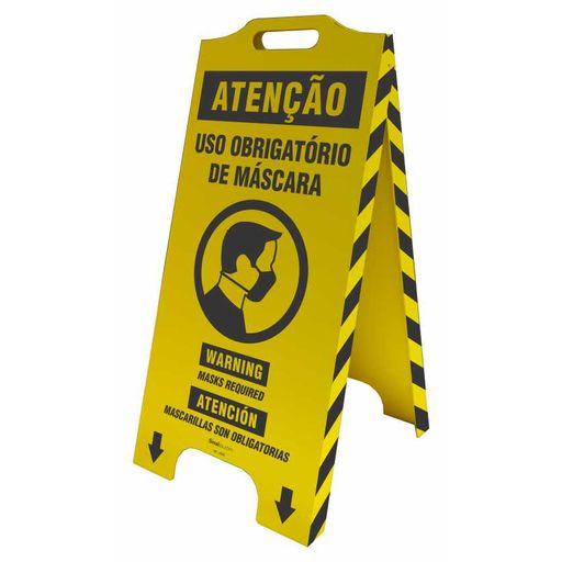 4698-cavalete-de-sinalizacao-atencao-uso-obrigatorio-de-mascara-trilingue-58x28cm-1